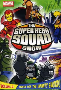 The Super Hero Squad Show: Quest for the Infinity Sword!: Season 1 Volume 4