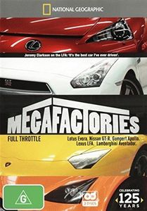 National Geographic: Megafactories-Full Throttle [Import]