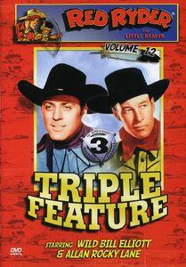 Red Ryder, Volume 12: Lone Texas Ranger /  California Gold Rush /  Homesteaders of Paradise Valley