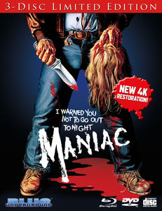 Maniac (3-Disc Limited Edition)