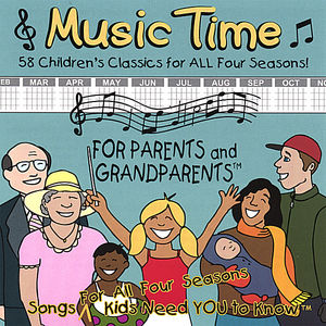 All Four Seasons Music Time for Parents & Grandpar
