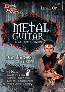 Metal Guitar Leads, Runs and Rhythms Level 1