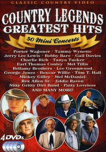 Country Legends Greatest Hits: 50 Mini Concerts