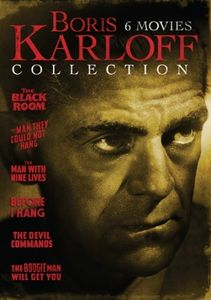 Boris Karloff Collection - 6 Movie Set DVD