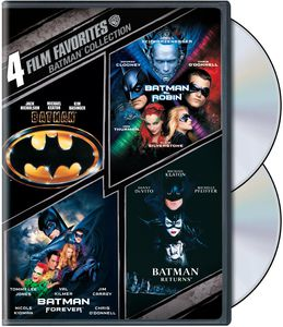 4 Film Favorites: Batman Collection