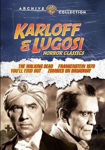 Karloff And Lugosi Horror Classics
