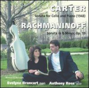 Carter/ Rachmaninoff : Anthony Ross Plays Carter & Rachmaninoff