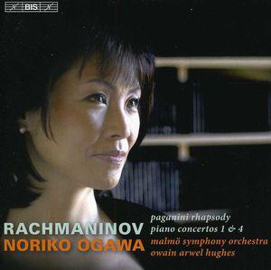 Piano Ctos Nos 1 & 4 /  Paganini Rhapsody