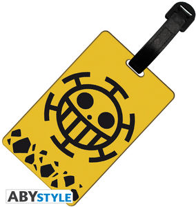 ONE PIECE LUGGAGE TAG TRAFALGAR LAW