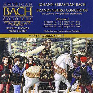Bach: Brandenburg Concertos 1-3