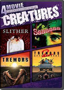 4 Movie Midnight Marathon Pack: Creatures