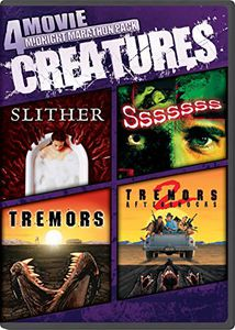 4 Movie Midnight Marathon Pack: Creatures