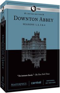 Masterpiece: Downton Abbey Seasons 1 & 2 & 3 & 4