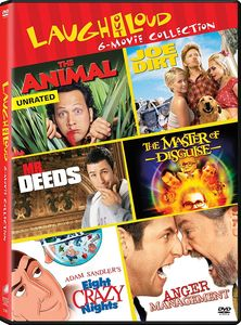 Anger Management (2003) /  Eight Crazy Nights /  The Animal (2001) /  JoeDirt /  The Master of Disguise /  Mr. Deeds