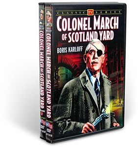 Colonel March of Scotland Yard Collection (2-DVD)