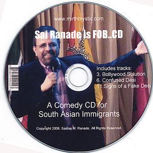 Sai Ranade Is Fob CD