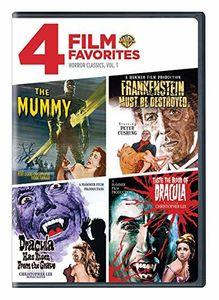 4 Film Favorites: Horror Classics: Volume 1