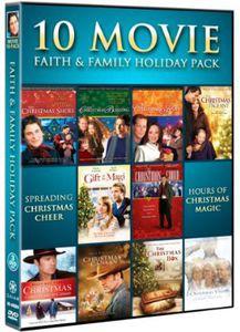 10 Movie Faith and Family Holiday Pack