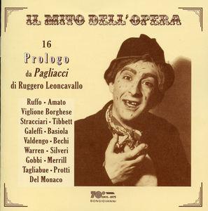 16 Prologo Da Pagliacci Di Leoncavallo