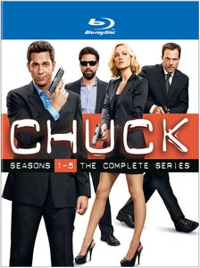 Chuck: Seasons 1-5: The Complete Series