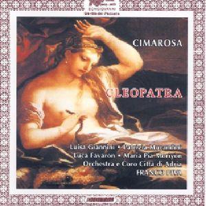 Cleopatra Opera Seria in Due Atti