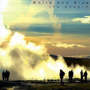 White & Blue