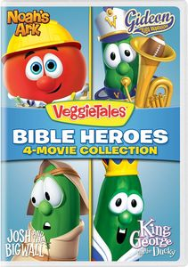 Veggietales: Bible Heroes - 4-Movie Collection