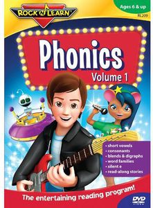 Rock N Learn: Phonics: Volume 1