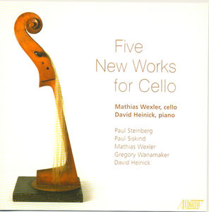 Five New Works for Cello