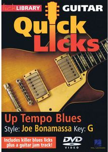 Up Tempo Blues: Quick Licks