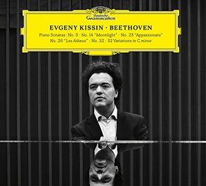 Beethoven (Piano Sonatas No 3 14 23 26 32)