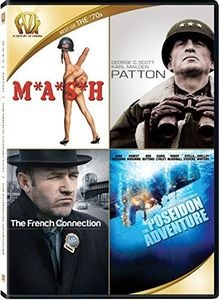 MASH /  Patton /  The French Connection /  The Poseidon Adventure Quad Fe