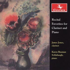 Recital Favorites for Clarinet & Piano