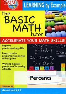 Basic Math Tutor Percents