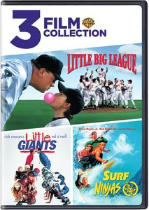 3 Film Collection: Little Big League /  Little Giants /  Surf Ninjas