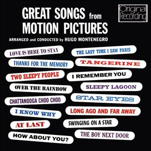 Great Songs from Motion Pictures (Original Soundtrack) [Import]