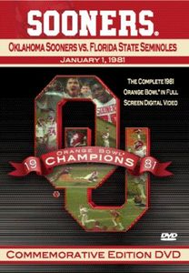 1981 Oklahoma Sooners Vs Florida State Seminoles