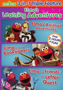 Elmo's Learning Adventures: Triple Feature