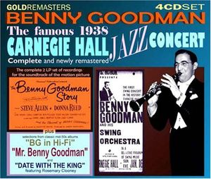 Famous 1938 Carnegie Hall Jazz Concert