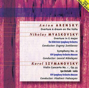 Szymanowski: VLN Cto /  Myaskovsky: Sym No 21