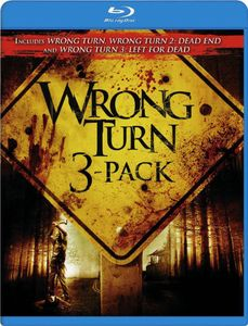 Wrong Turn DVD 3 Pack