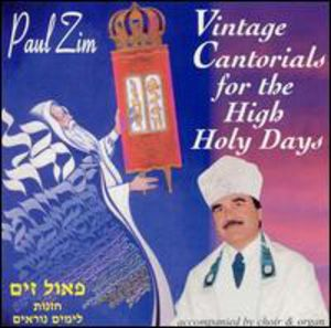 Vintage Cantorials for the High Holidays