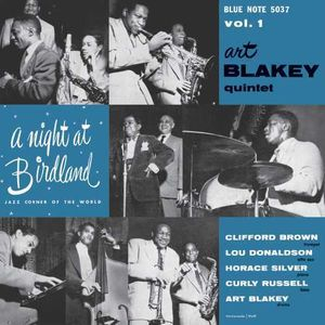 Night at Birdland with Art Blakey Quintet Vol 1