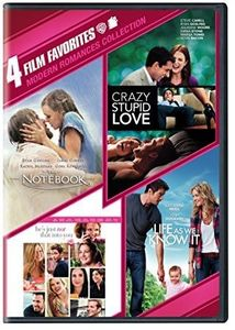4 Film Favorites: Modern Romances Collection