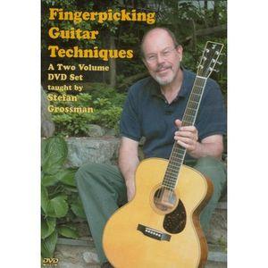 Fingerpicking Guitar Techniques Set a Two Volume Set