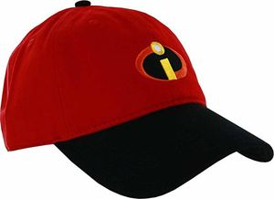 Incredibles Red & Black Adjustable Baseball Cap