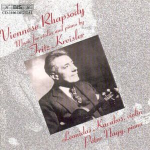 Viennese Rhapsody: Music for Violin & Piano