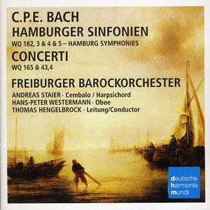 Bach C.P.E: Hamburger Sinfonien /  Concerti