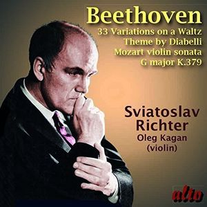 BEETHOVEN: Diabelli Variations Op. 120, MOZART: Violin Sonata in G K.379, Oleg Kagan, violin
