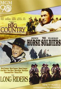 The Big Country /  The Horse Soldiers /  The Long Riders